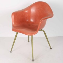 Fiberglass Shell Chair Chicago Rental Mid Century Modern Chromcraft Armchair Ebth