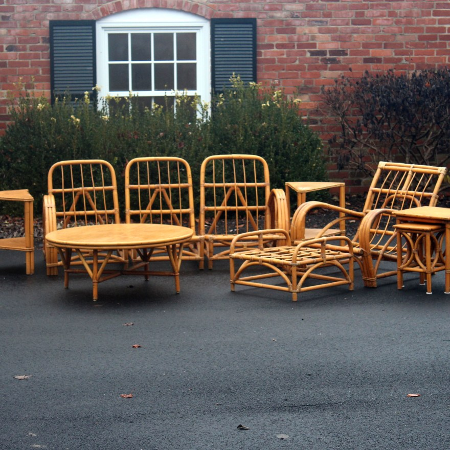 Vintage Rattan Patio Furniture