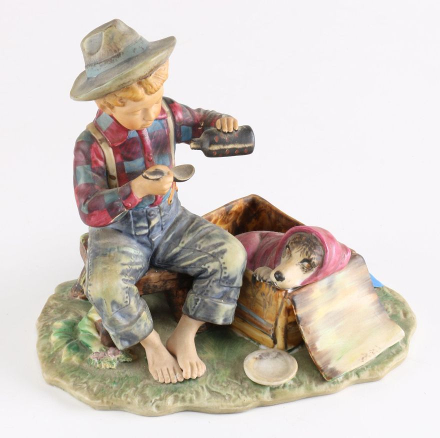 Norman Rockwell Figurines Gorham