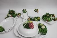 Hand Made Italian Ceramic Dinnerware Set : EBTH