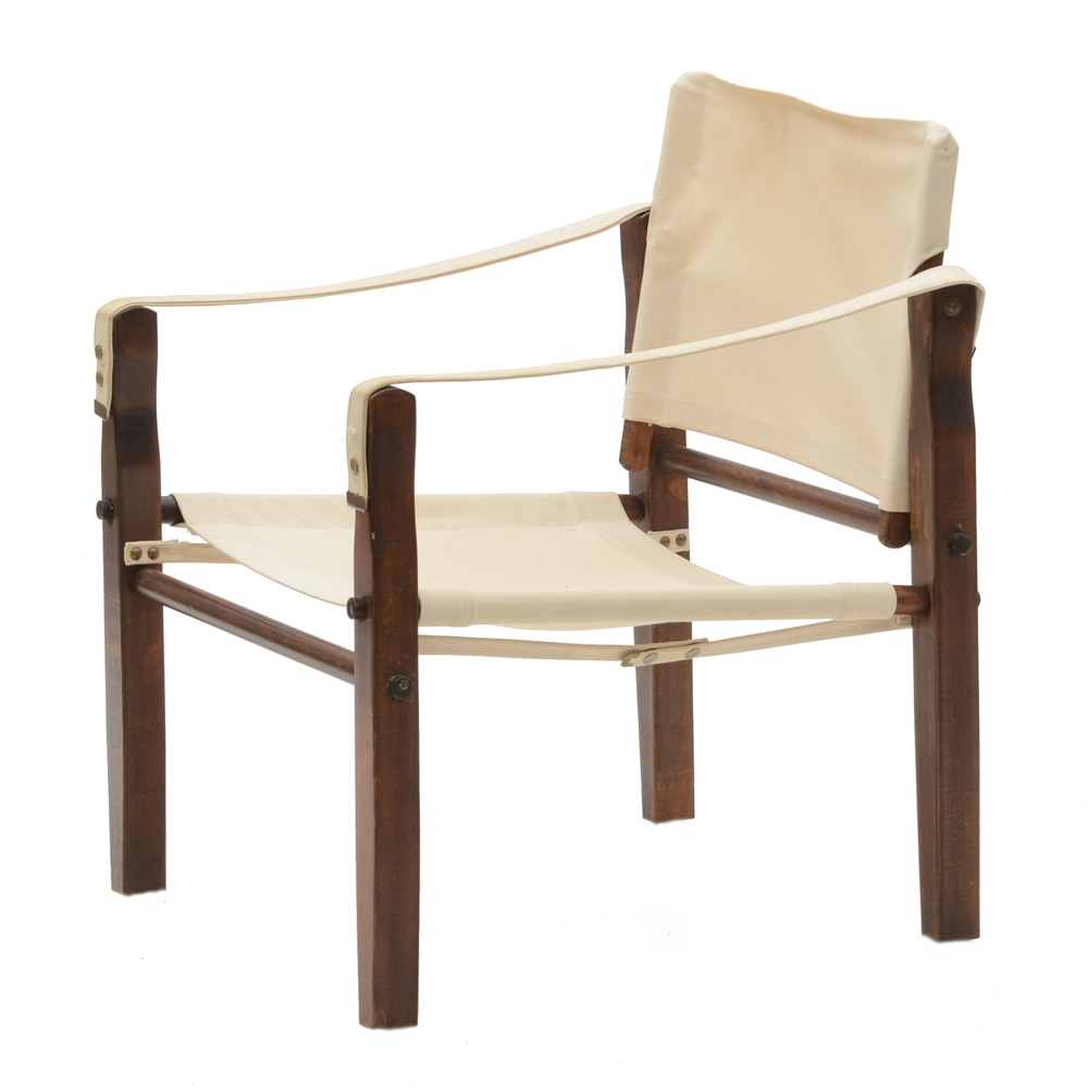 canvas sling chair harwick extra tall ergonomic drafting vintage ebth