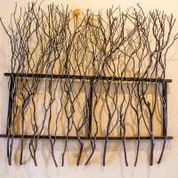 Sculptured Wooden Wall Art : EBTH