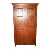 Mastercraft Unfinished Pine Buffet With Hutch : EBTH