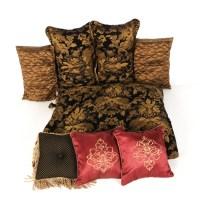 King Size Bedding and Throw Pillows : EBTH