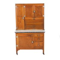 Circa 1920s Hoosiers Style Sellers Kitchen Cabinet : EBTH