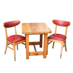 Eastlake Victorian Parlor Chairs Strong Back Chair Canada Antique Tiger Oak Library Table : Ebth