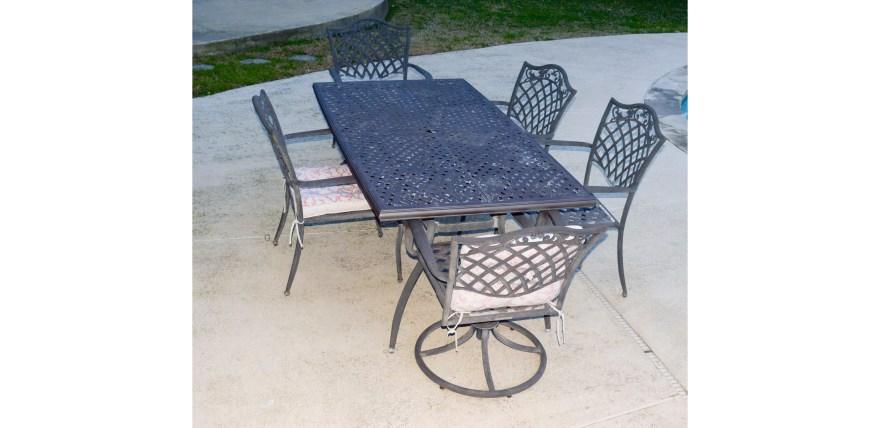 Garden Treasures Classics Patio Table And Chair Set Ebth