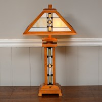 Frank Lloyd Wright Style Desk Lamp : EBTH