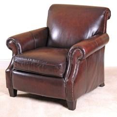 Bernhardt Brown Leather Club Chair Graco Elephant High Ebth