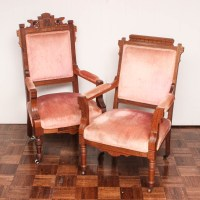 Antique Eastlake Parlor Chairs : EBTH