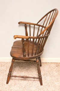 Vintage Windsor Style Sack-Back Armchair by Cochran Chair ...