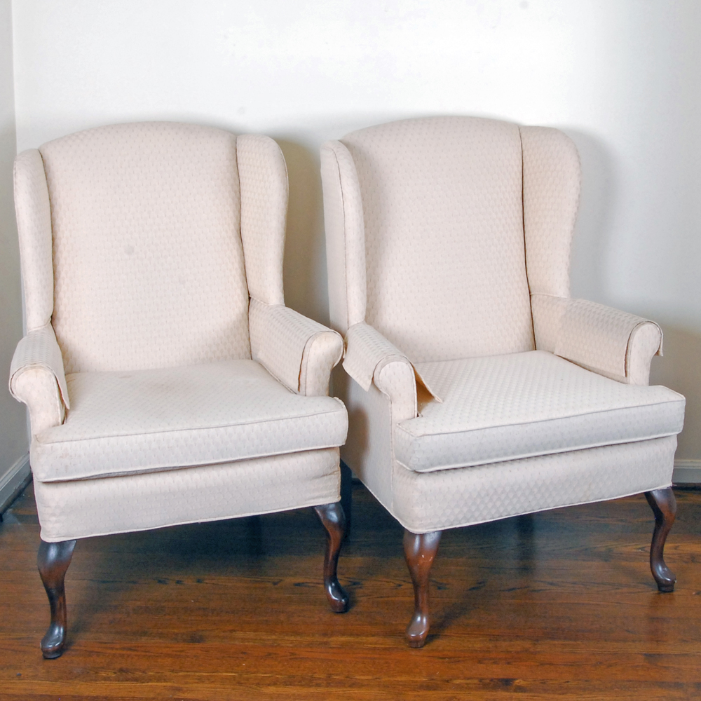 pembrook chair corp covers adelaide sa pair of wingback chairs by ebth