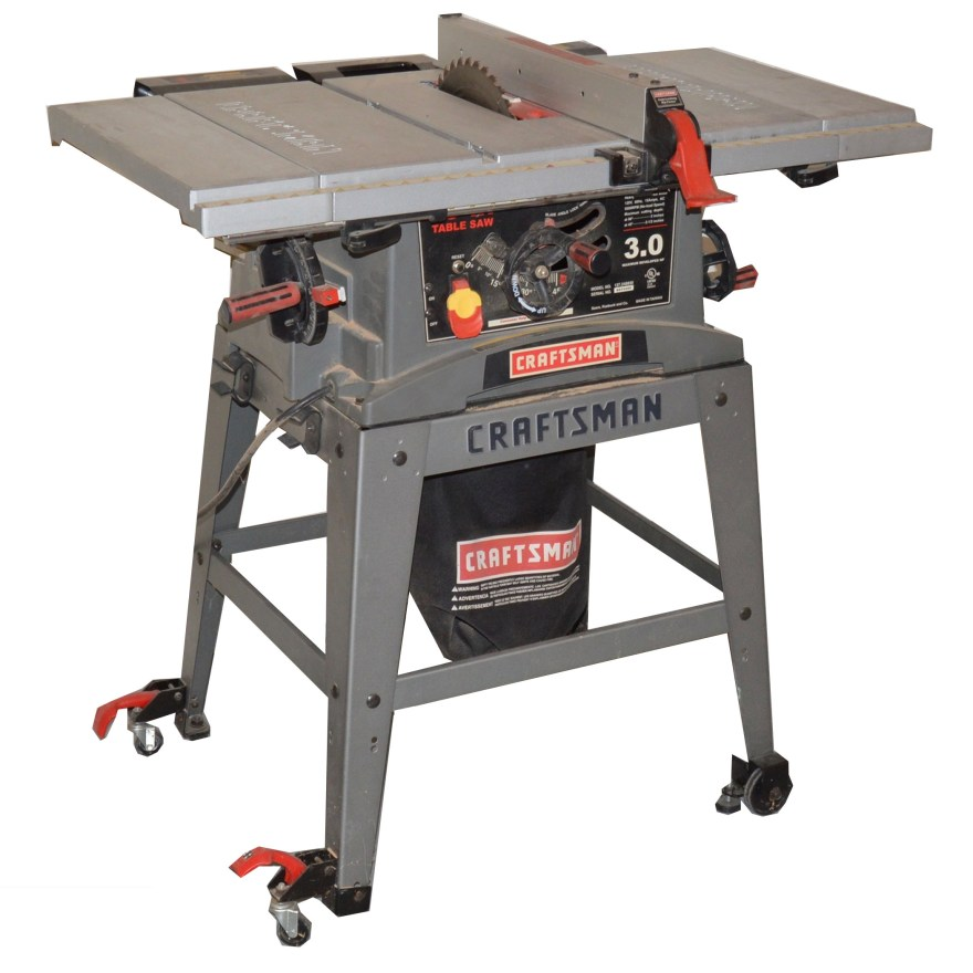 Craftsman 30 Hp Table Saw