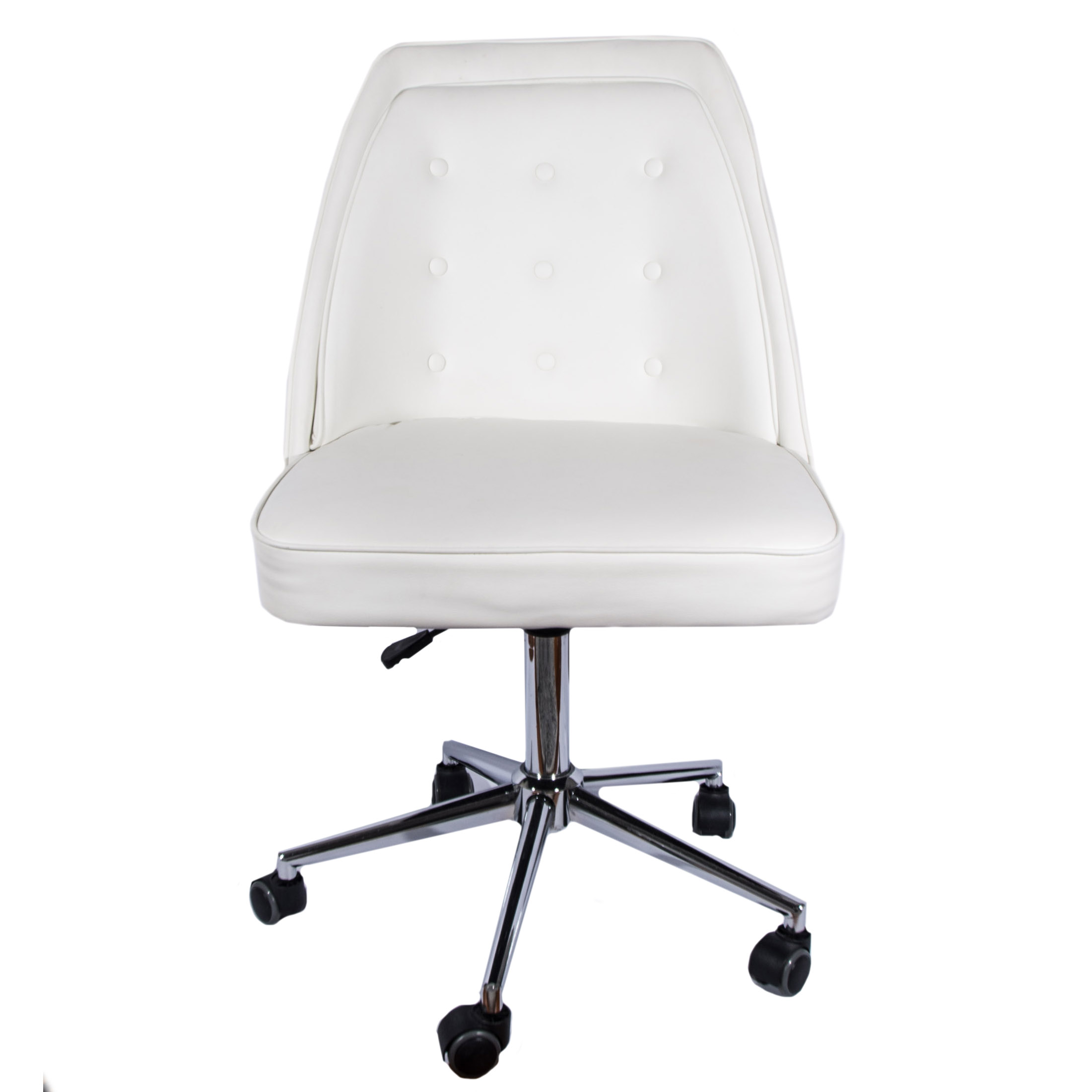 white rolling chair walmart patio cushions leather desk by tainoki ebth