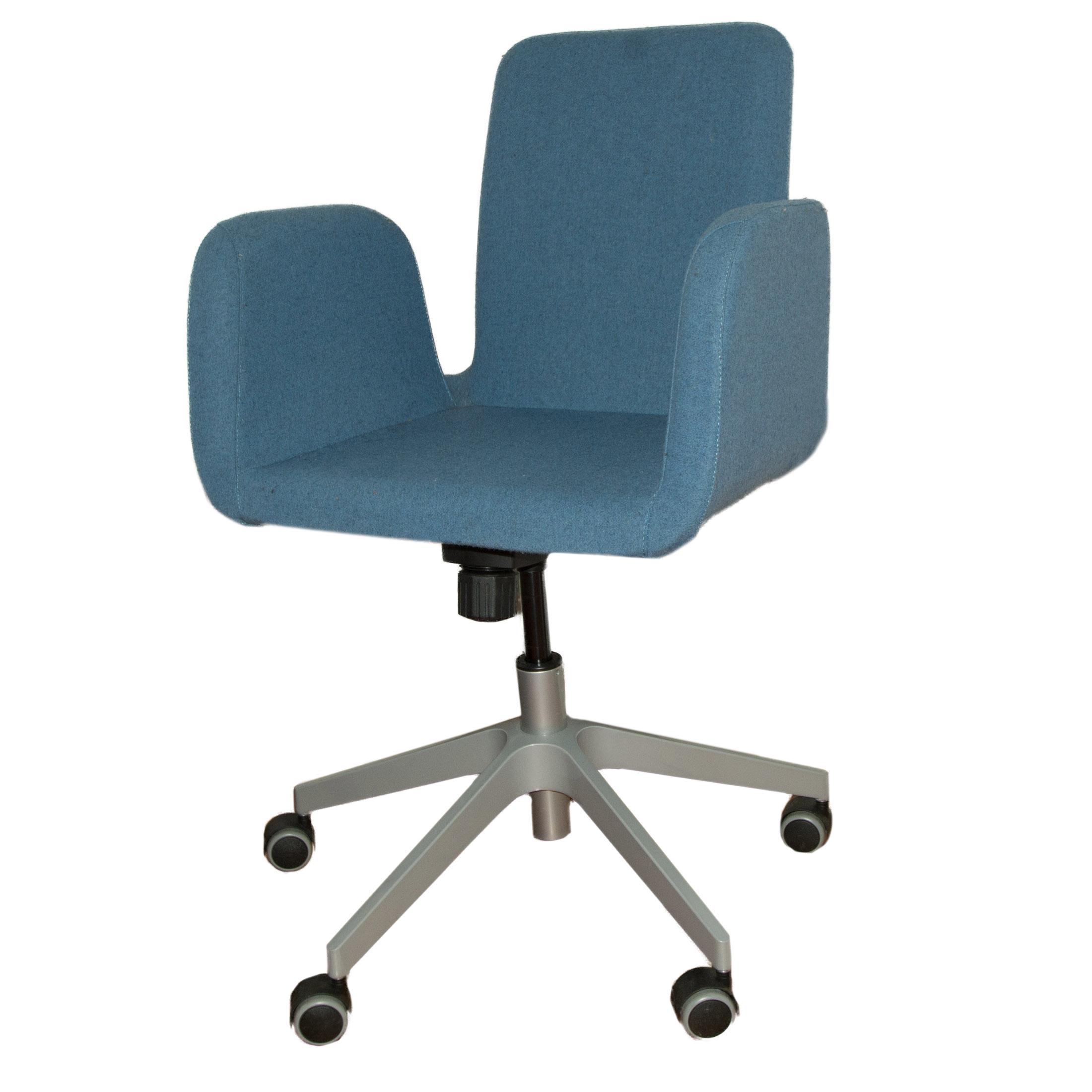ikea metal chairs purple high chair patrik desk ebth