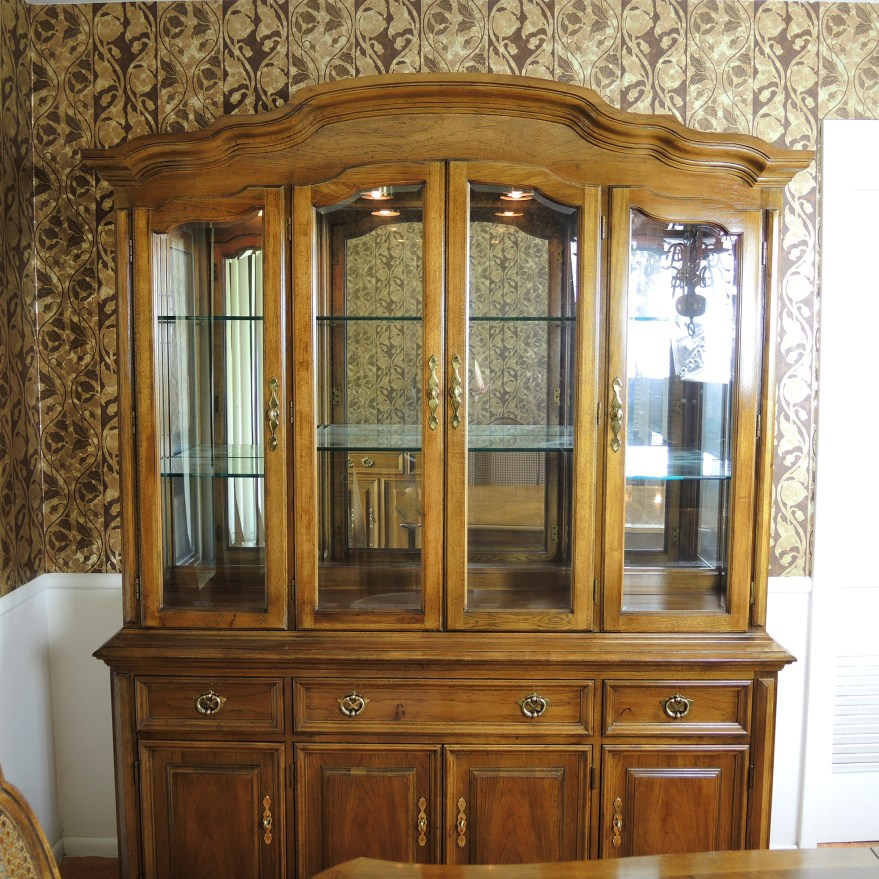 Thomasville Lighted China Cabinet  Review Home Co