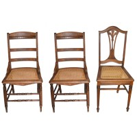 Late 19th Century Victorian Side Chairs and Vintage Chair ...