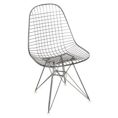Mid Century Modern Wire Chair Jeep Camping Chairs Dkr 1 By Eames For Herman Miller With Provenance Ebth