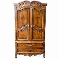 Cream Colored French Provincial Style Nightstand : EBTH