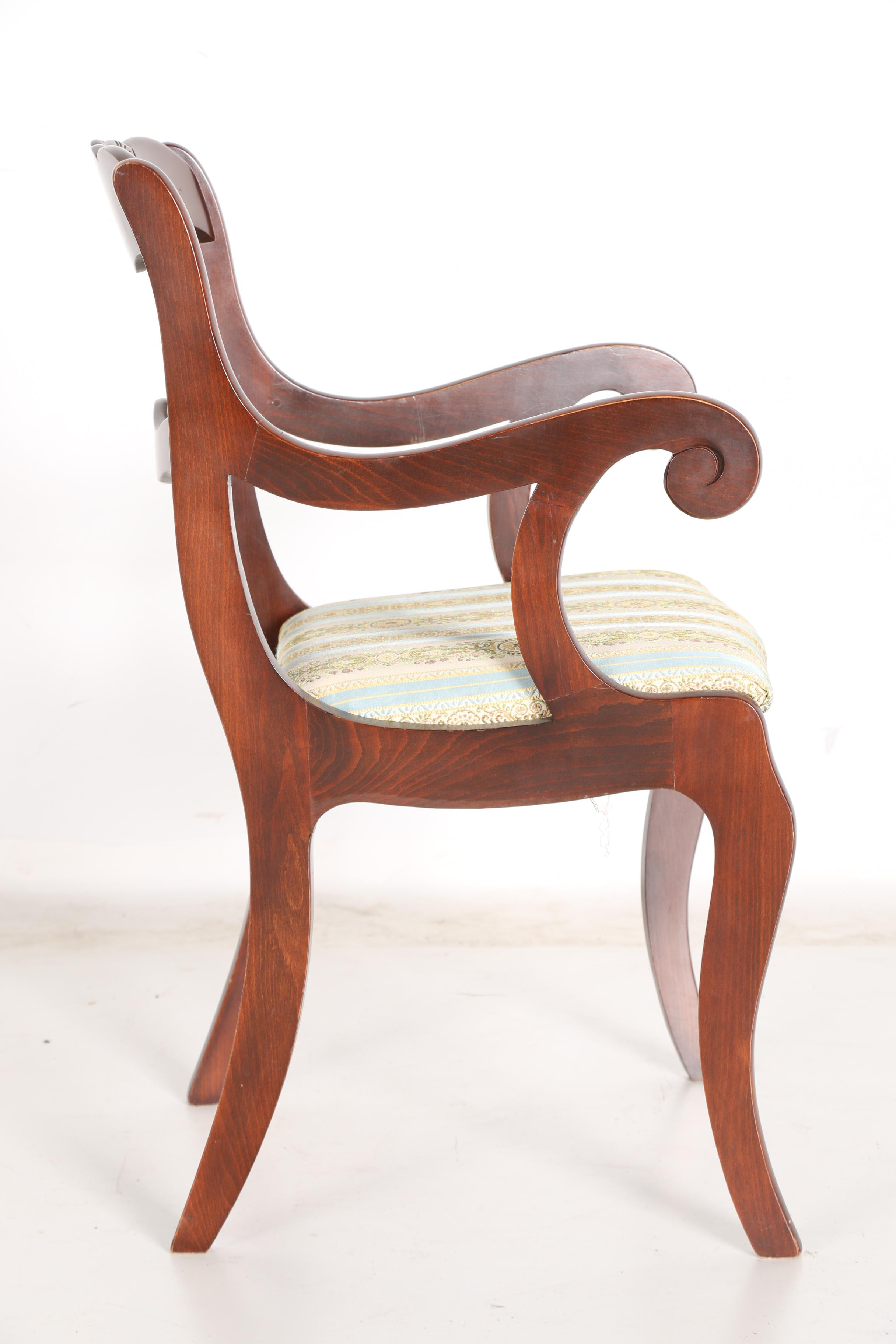 tell city chairs pattern 4222 old people chair lift vintage classical style dining by