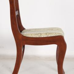 Tell City Chairs Pattern 4222 Glider Chair And Ottoman Vintage Classical Style Dining By