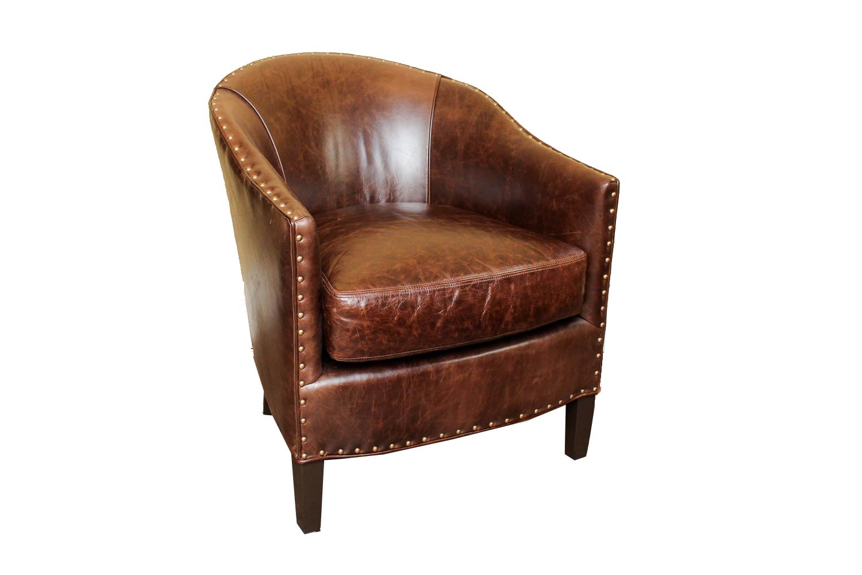 alex chair arhaus child rocking quotgiles quot leather club ebth