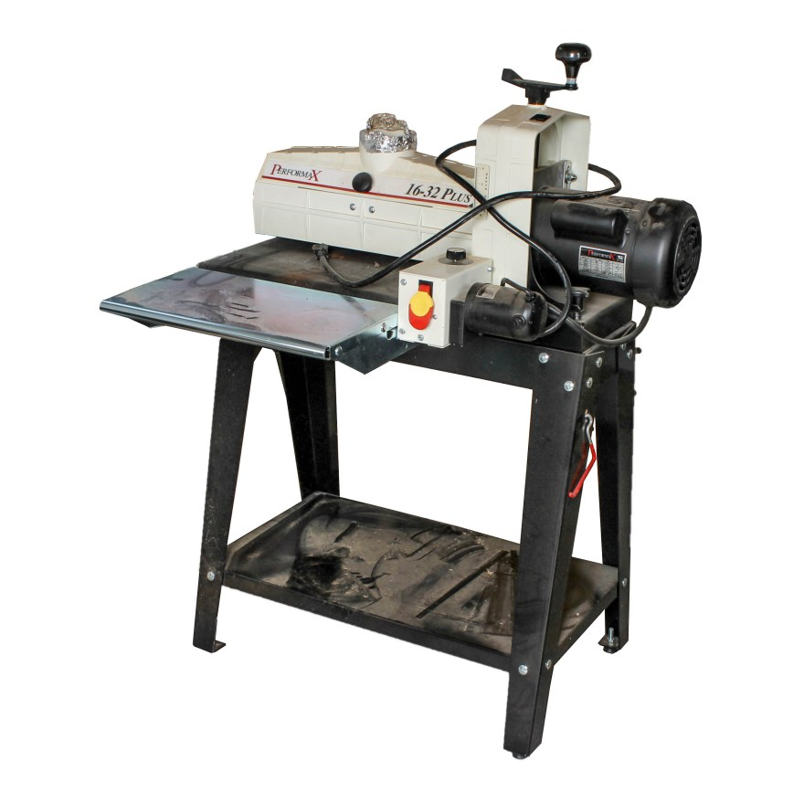 Performax Drum Sander Radial Arm Saw