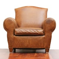 mitchell gold leather chair  Loris Decoration
