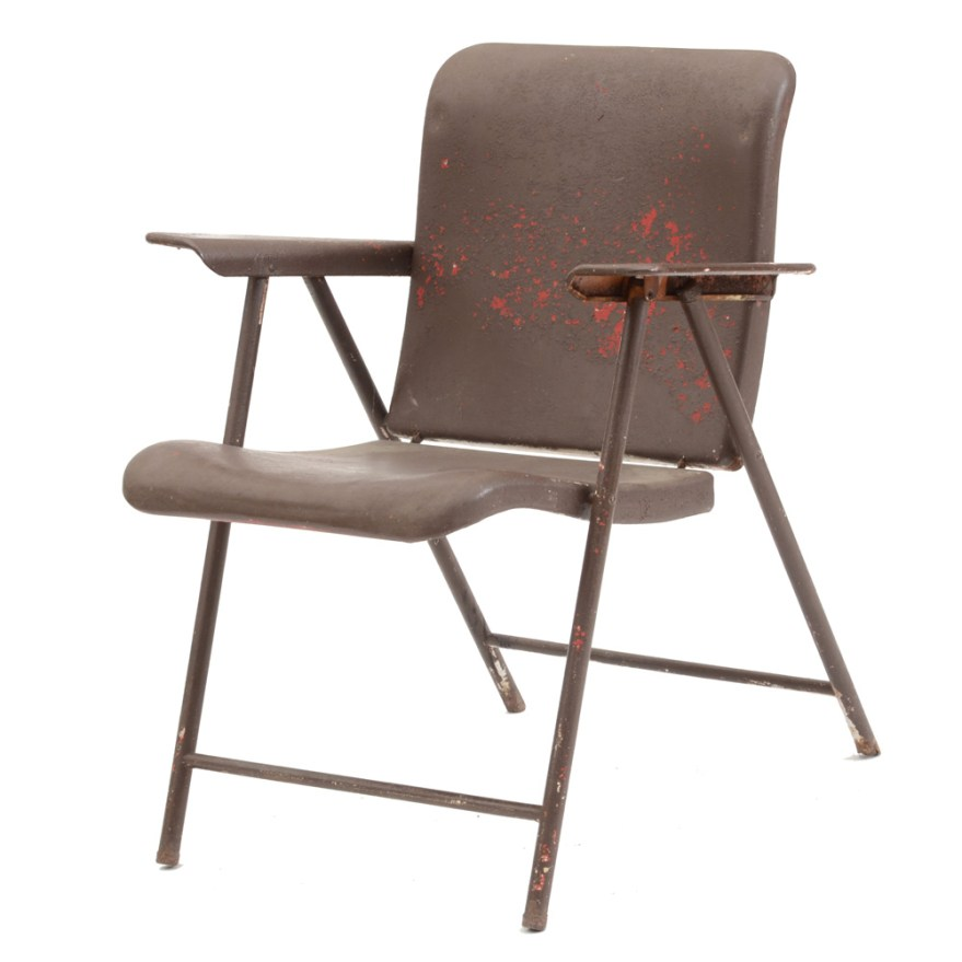Russel Wright Samsonite Folding Chair Ebth