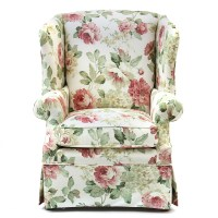 Broyhill Furniture Floral Printed Armchair : EBTH