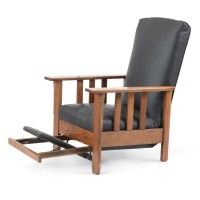 Mission Oak Reclining Chair by Royal Easy Chair Company : EBTH