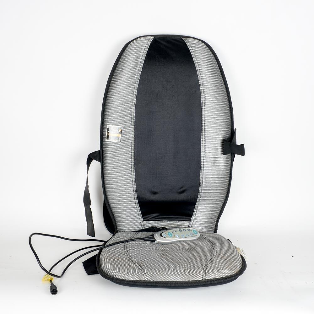 chippendale rocking chair cover rentals el paso shiatsu massaging cushion by homedics : ebth