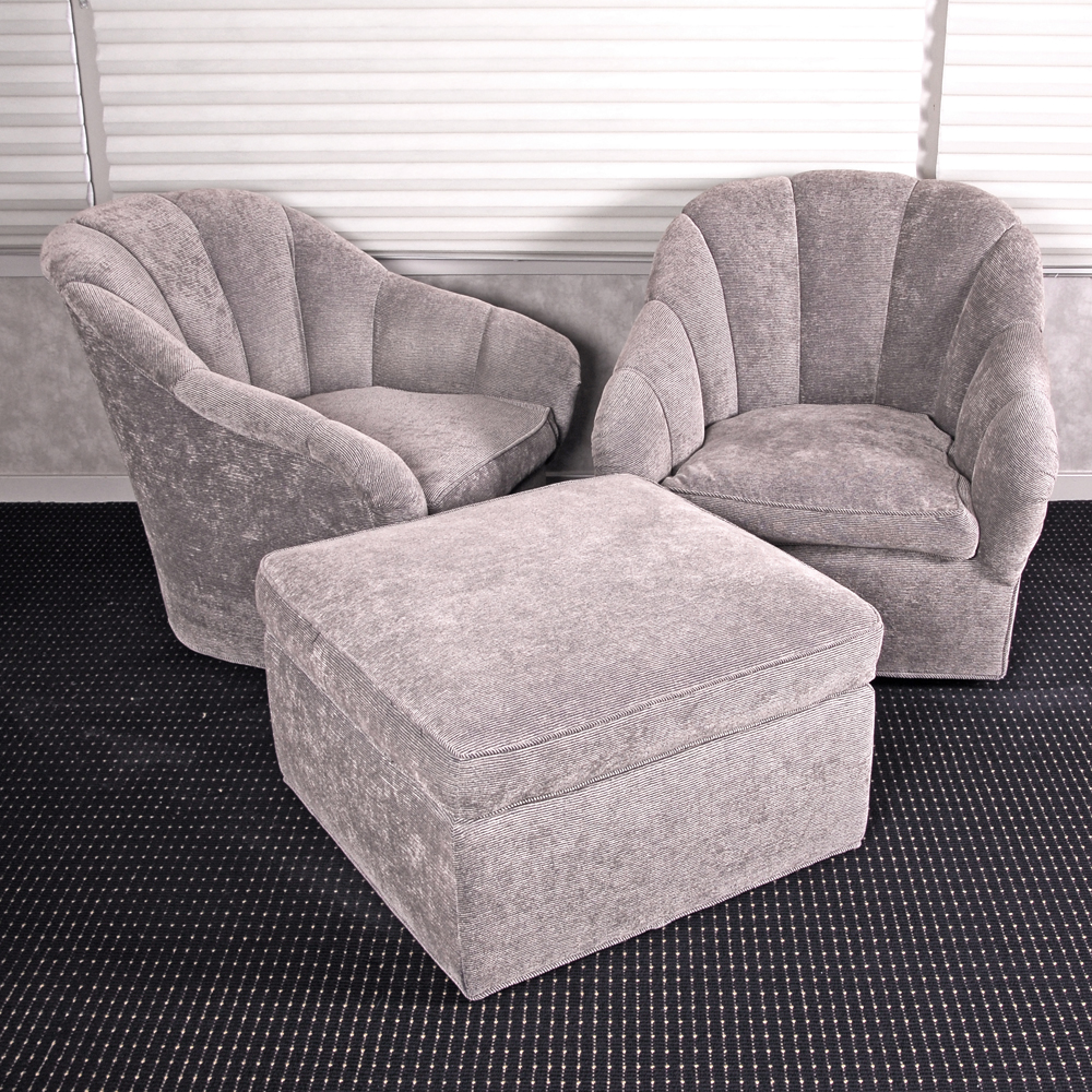 swivel club chair with ottoman design chairs and matching ebth