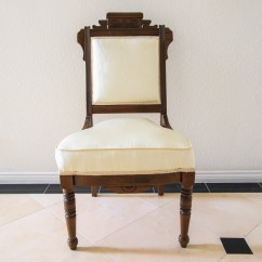 Eastlake Victorian Parlor Chairs Childrens Sofa Chair Ebth