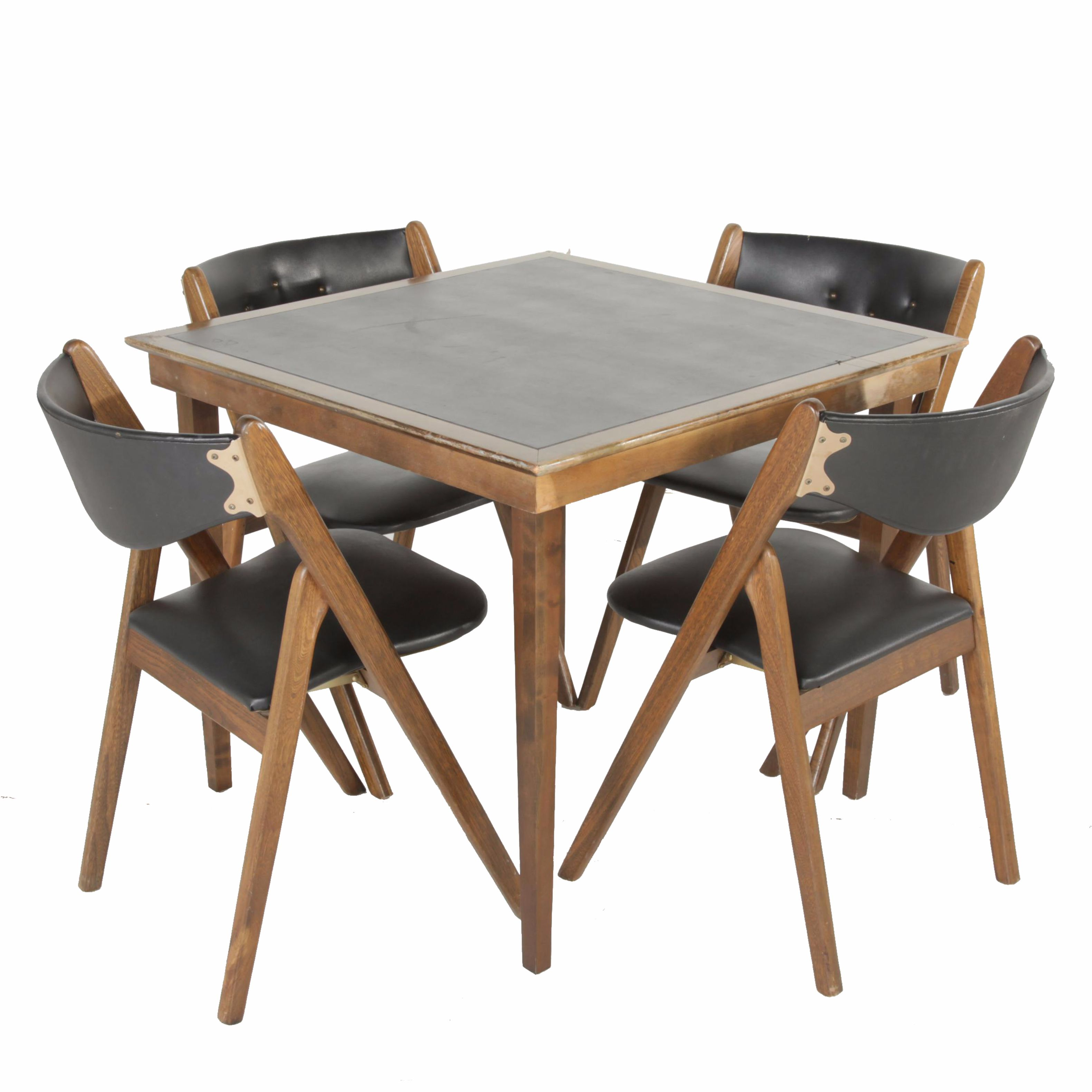 coronet folding chairs rainforest vibrating chair vintage wonderfold and table ebth