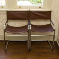 Mid Century Modern Metal Frame Armchair Set : EBTH