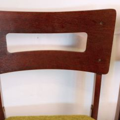 Coronet Folding Chairs Chair Lift Rentals Set Of Four Mid Century Norquist Quotcoronet Quot Wood