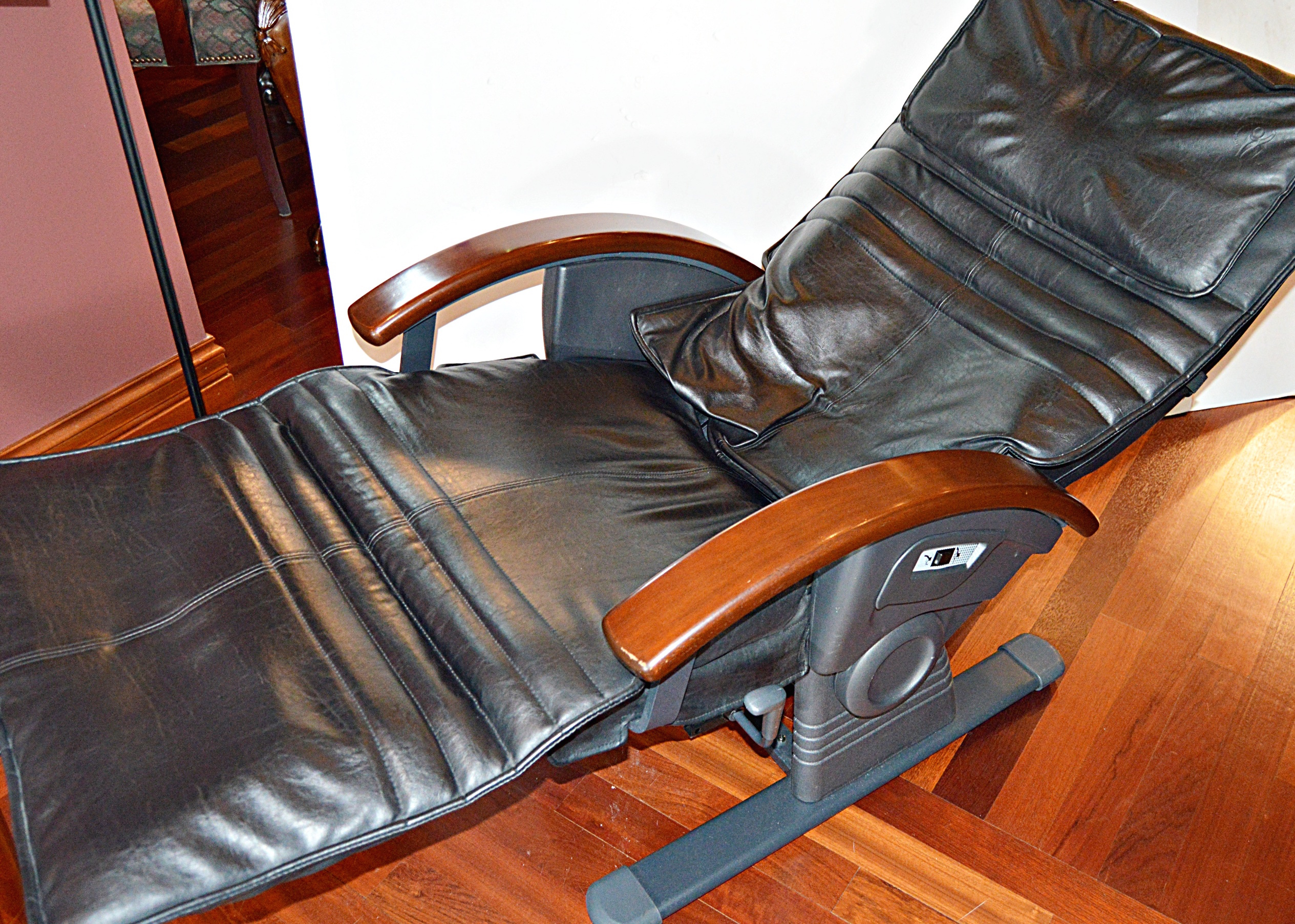 sharper image massage chairs skyline furniture accent ems computerized auto recline chair