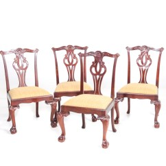 Chippendale Dining Chair Photo Frame Hd Baker Furniture Set Ebth
