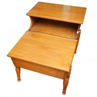 Mid-Century Two-Tiered Side Table : EBTH