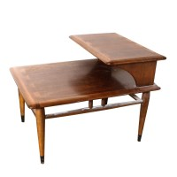Vintage Mid Century Modern Two-Tier End Table by Lane : EBTH