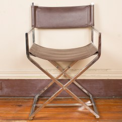 Leather Directors Chair Bliss Covers And Unique Wedding Decorations Metal Ebth