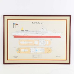 Cruise Ship Diagram Series Battery Wiring S Canberra Ebth