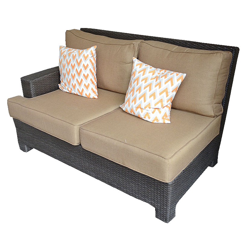 Southern Living Wicker Style Outdoor Seating Ebth