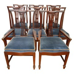 Federal Dining Chairs Vinyl Office Chair Vintage Style Ebth
