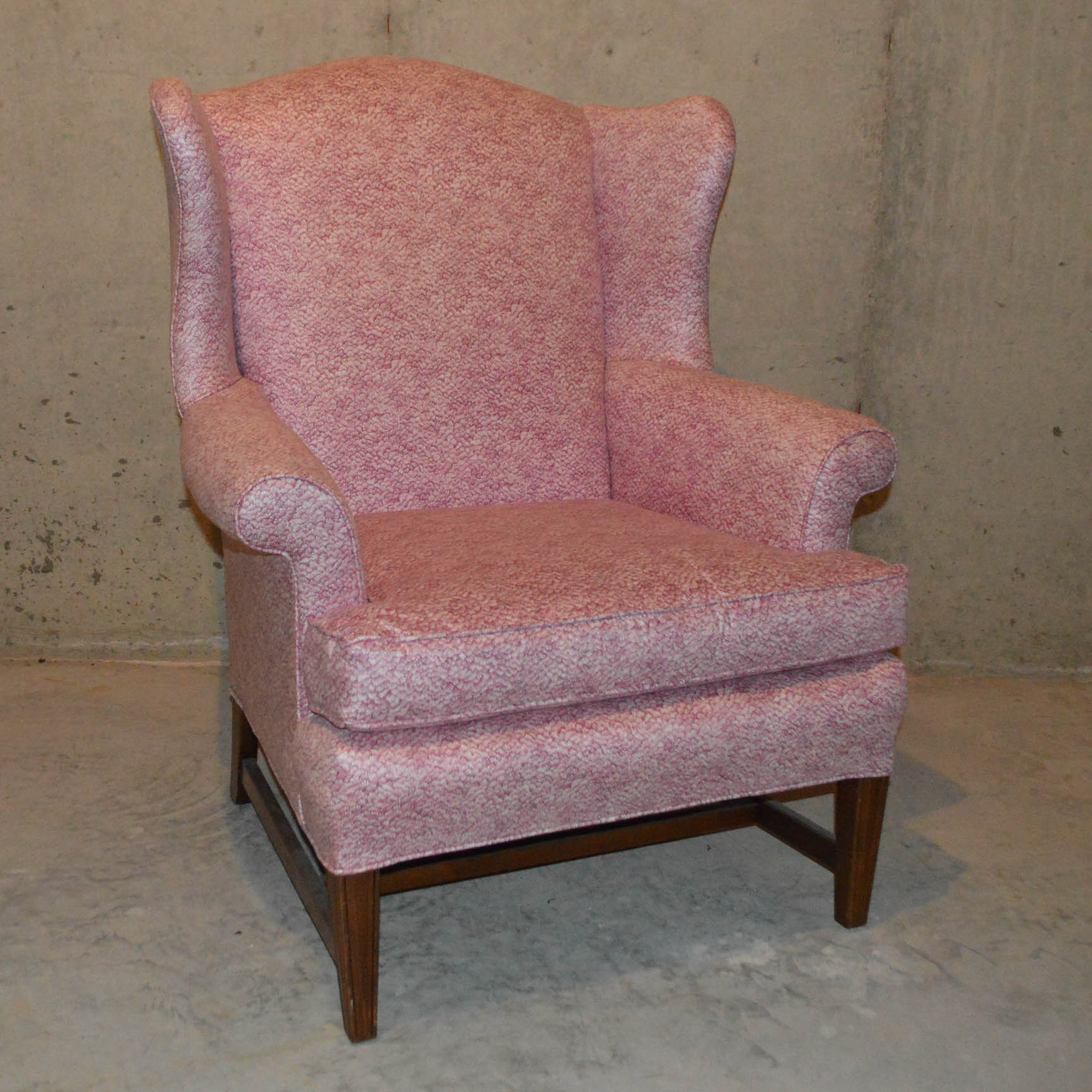 large wingback chair gym assembly ebth