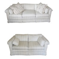 Vintage Drexel-Heritage Matching Sofa and Loveseat : EBTH