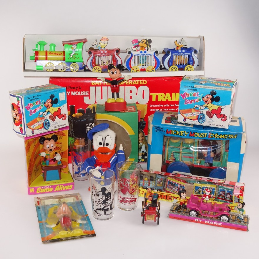 Vintage Disney Mickey Mouse Toys Ebth