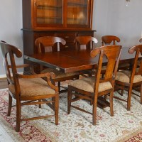 Arhaus Tuscany Dining Room Table and Eight Tuscany Dining ...