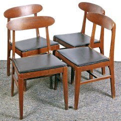 Liberty Dining Chairs Beach Wedding Chair Decoration Ideas Set Of Vintage Mid Century Modern By The Company Ebth